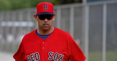 Alex Cora admits to OMF he listens to talk radio