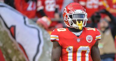Kansas City Chiefs wide receiver Tyreek Hill