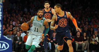 Report: Kyrie Irving intends to re-sign with Celtics next season