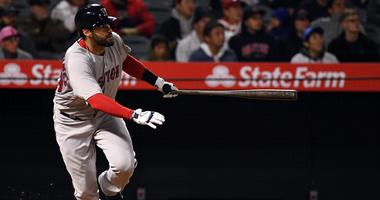 Who's swinging the lumber? J.D. Martinez powers Red Sox offense