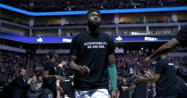 Jaylen Brown wishes LeBron James stayed in Eastern Conference