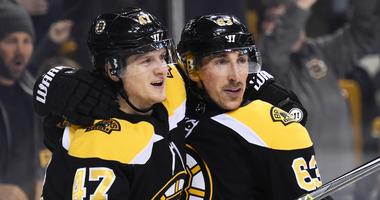 How do the Bruins keep scoring and winning without Patrice Bergeron?