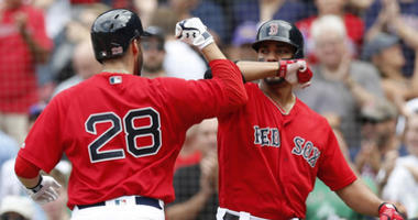 J.D. Martinez and Xander Bogaerts