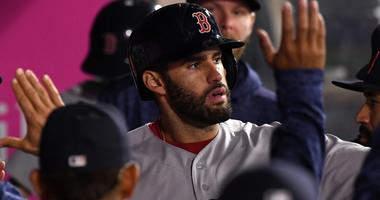 Red Sox 8, Angels 2: This J.D. Martinez guy is pretty good