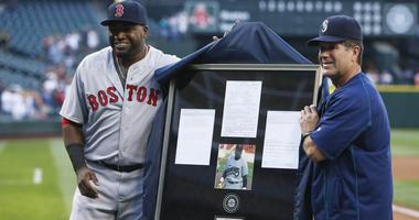 David Ortiz likes how this Edgar Martinez voting is going