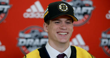 How Bruins pick Studnicka is faring early at Team Canada WJC camp