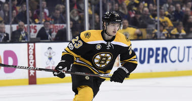 Six legit contenders in Bruins' third-line center battle