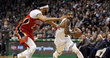 Let's start dreaming: Kyrie Irving has reportedly spoken with Anthony Davis about playing in Boston
