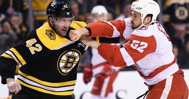 David Backes talks suspension: 'That's the world we live in'