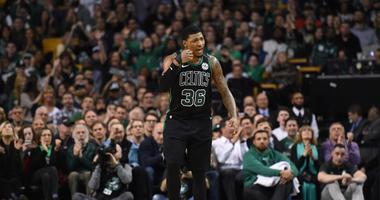 Celtics notes: Marcus Smart optimistic about playoff return, Marcus Morris fined for 'verbally abusing' official