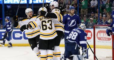 Bruins 3, Lightning 0: Bruins let Bolts know they're for real