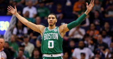 Jayson Tatum makes case to win NBA Rookie of the Year