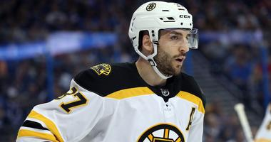 What's wrong with Patrice Bergeron?