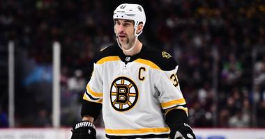 Chara injury lowest point of Bruins' loss to Avs