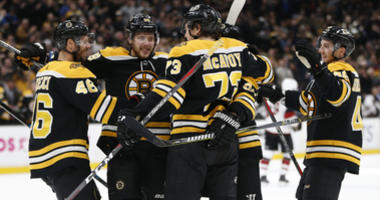 Kalman: Why Bruins' new 'best line in hockey' should stay together