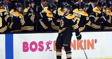 Chris Wagner scored one for late grandfather in Bruins' win