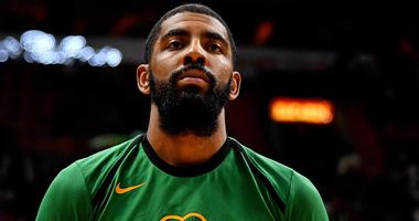 Kyrie Irving had a postgame workout following Thursday's loss