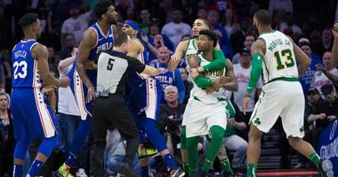 Brad Stevens, 'Disappointed in Marcus (Smart),' following ejection vs Sixers