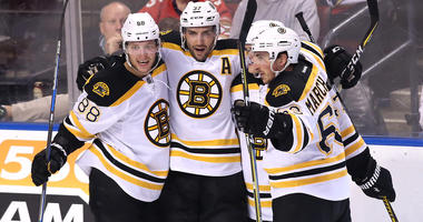 Bruins' Cassidy keeping his 'hands off' potent first line