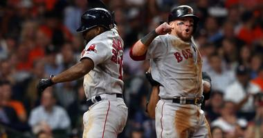 Red Sox one win from the World Series after wild, heart-stopping victory over Astros