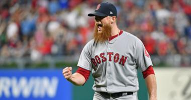 Craig Kimbrel ready for his 8th inning rehearsal