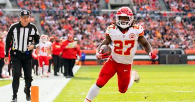 Running back Kareem Hunt