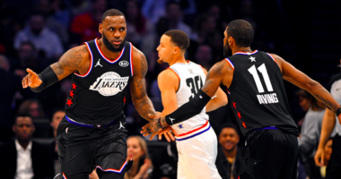 Kyrie Irving alley-oops to LeBron James in NBA All-Star Game, fans notice the chemistry
