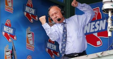 Jerry Remy, for some reason, ate grasshoppers on the air last night