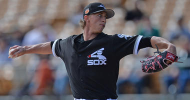 Former Red Sox prospect Michael Kopech, who was part of Chris Sale trade, is having tough year