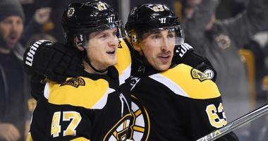 Brad Marchand, Torey Krug trade shots in spicy Twitter back and forth