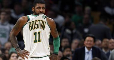 Kyrie Irving gets into spirited Duke debate with kid at Boston Children's Hospital