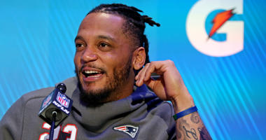New England Patriots safety Patrick Chung