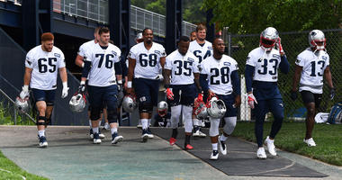 Hannable: Some post-spring Patriots thoughts, including one intense positional battle