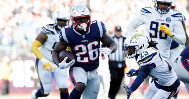 Sony Michel compares nerves for AFC championship game to taking a test