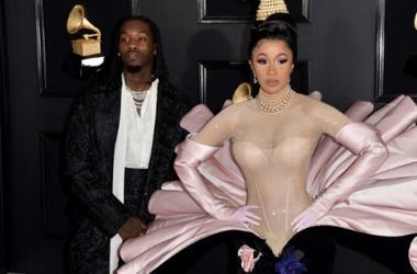Offset and Cardi B arrive at the 61st Annual Grammy Awards