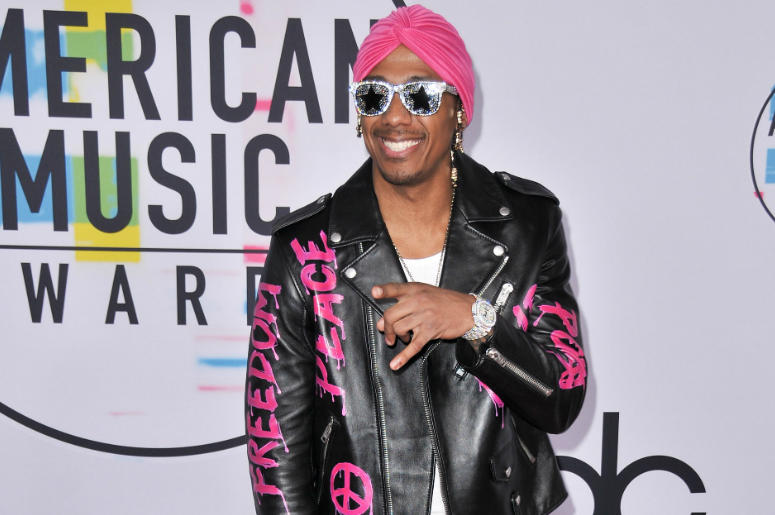 Nick Cannon at the 2017 American Music Awards at Microsoft Theater on November 19, 2017 in Los Angeles, California.