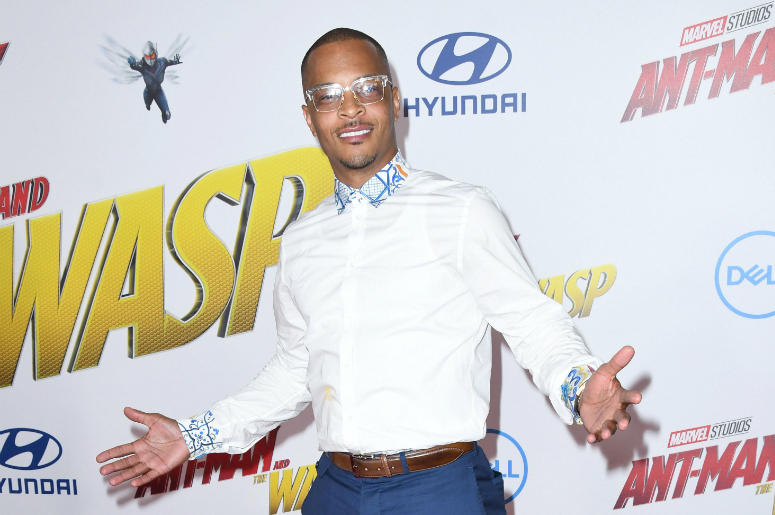 "25 June 2018 - Hollywood, California - Tip ""T.I."" Harris. ""Ant-Man and The Wasp' Los Angeles Premiere held at theEl Capitan Theatre."