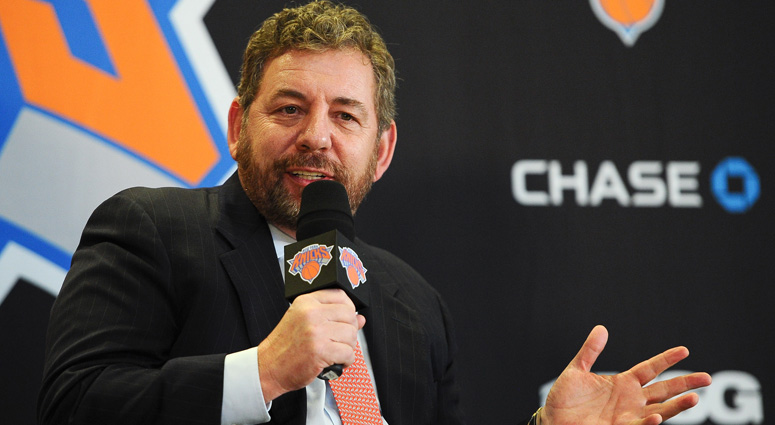 Knicks Dispute Report Saying Dolan 'Courting Offers' To Sell Team