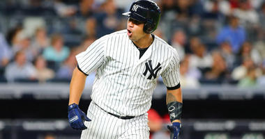 Yankees catcher Gary Sanchez
