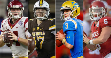Sam Darnold, Josh Allen, Josh Rosen and Baker Mayfield