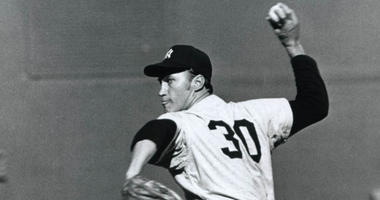 Yankees pitcher Mel Stottlemyre in 1967