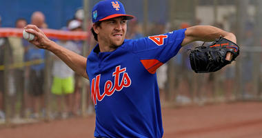 Mets pitcher Jacob deGrom