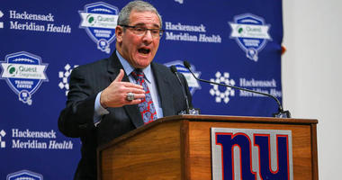Giants general manager Dave Gettleman