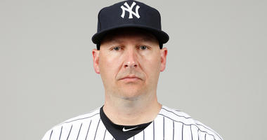 Yankees bench coach Josh Bard