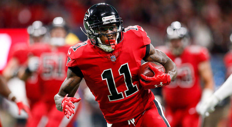 Falcons wide receiver Julio Jones