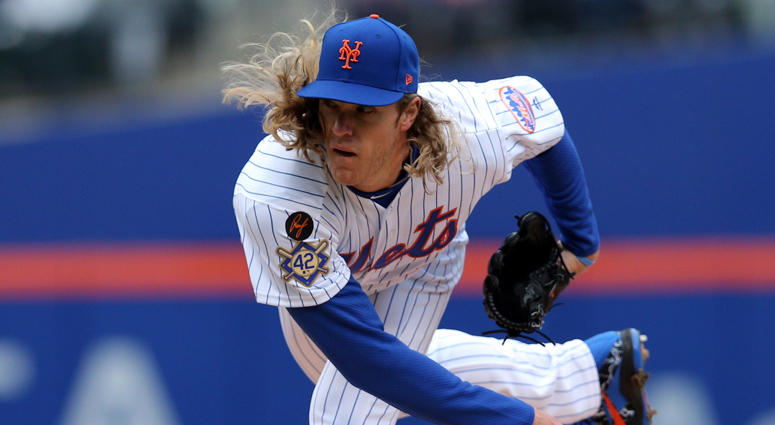 Mets pitcher Noah Syndergaard