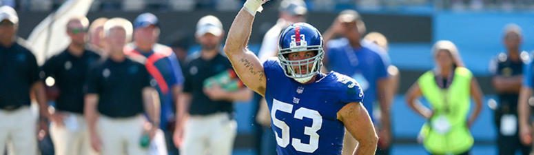 Giants Release LB Connor Barwin