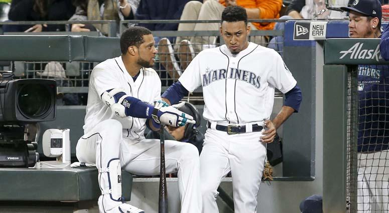 Robinson Cano (left) and Edwin Diaz