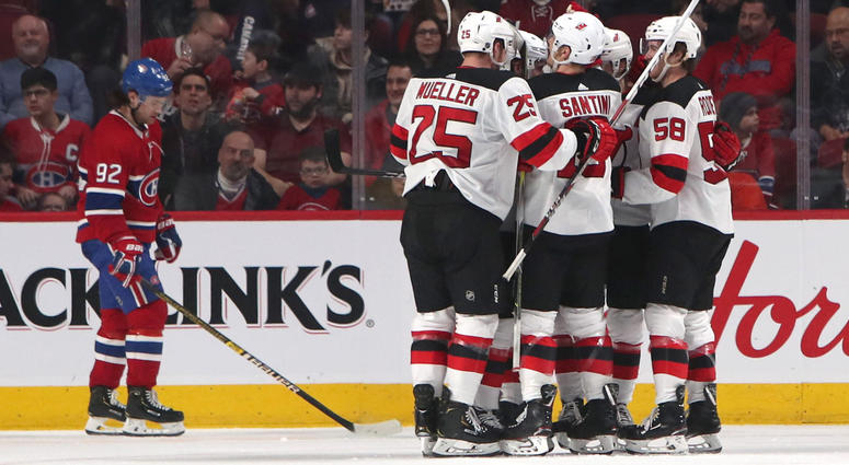 a55bd8d85 New Jersey Devils Notes  Bounce-Back Win Against Montreal Canadiens ...