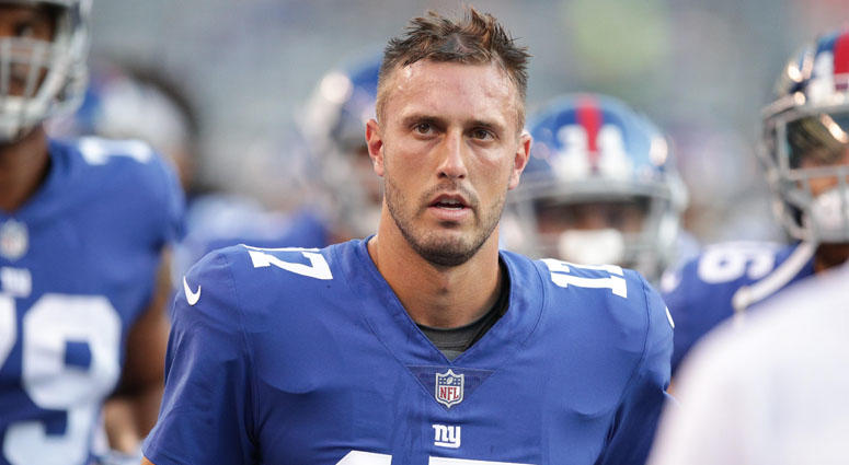 Giants quarterback Kyle Lauletta